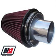 Large Cone Air Filter And 100mm Trumpet GT30 GT35 GT37 Turbo 600+BHP